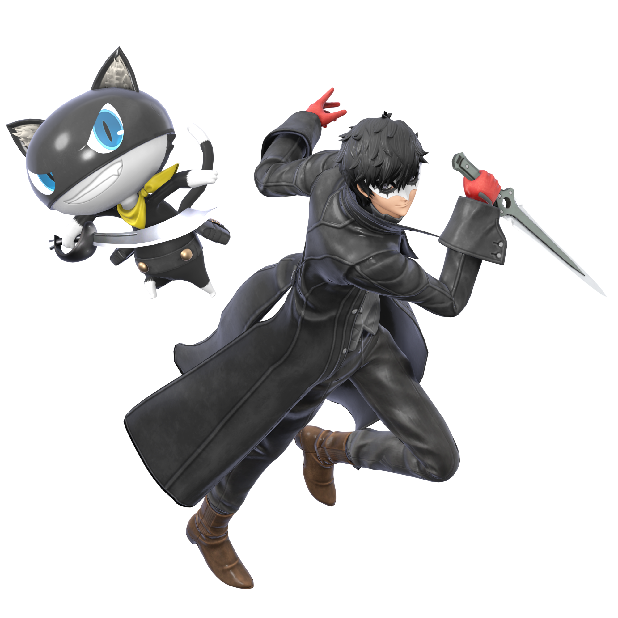 Joker And Morgana By Unbecomingname On Deviantart