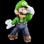 Luigi Melee Render Remake