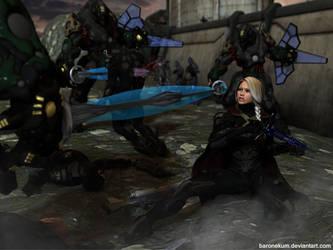 Lyudmila's Last Stand by BaronEkum