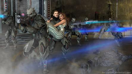 Saving the Princess by BaronEkum