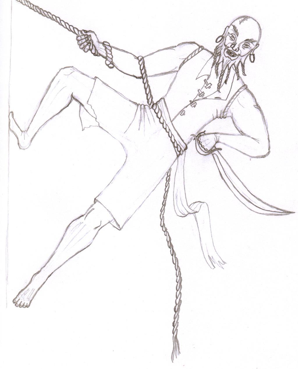 Swingin' Pirate by scetxr-efx