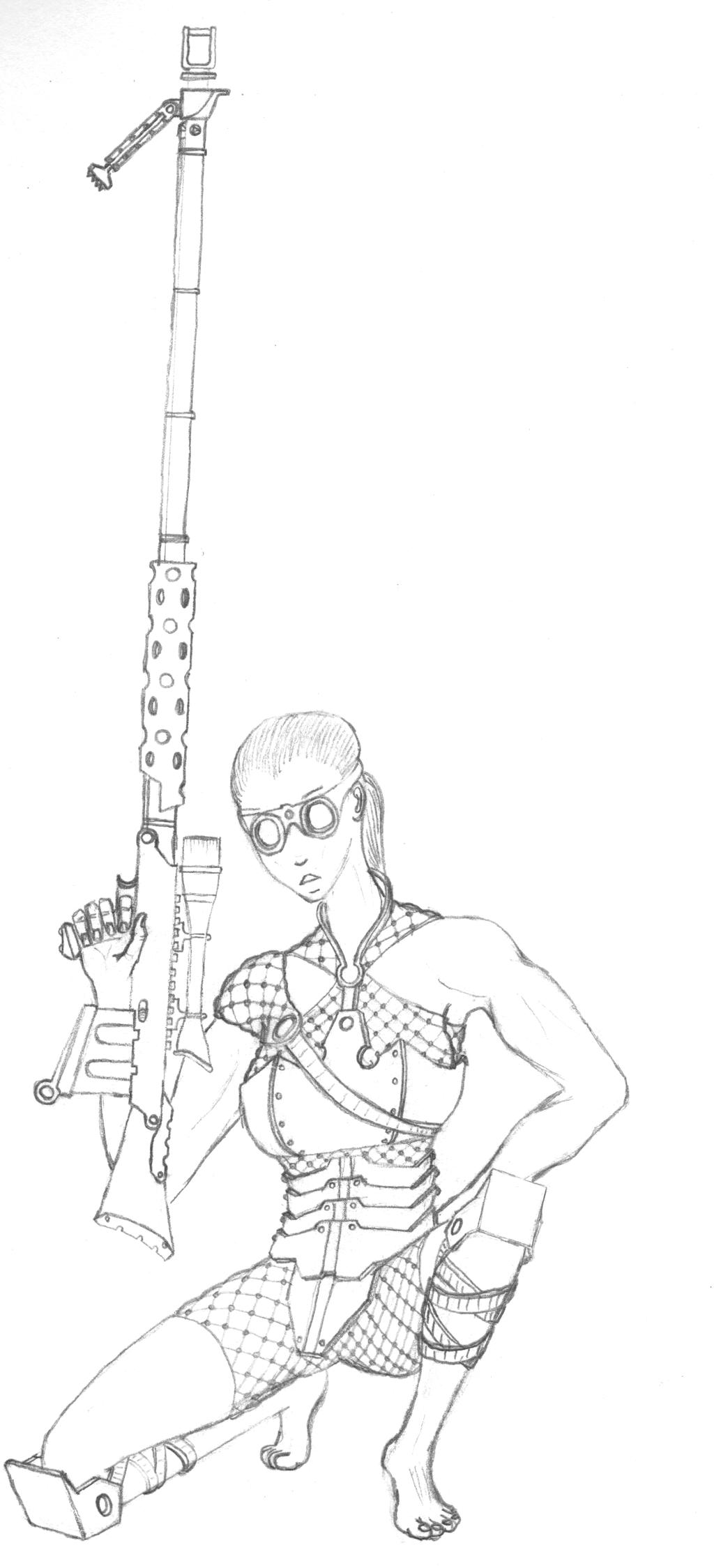 Mech.013.Desert Sniper by scetxr-efx