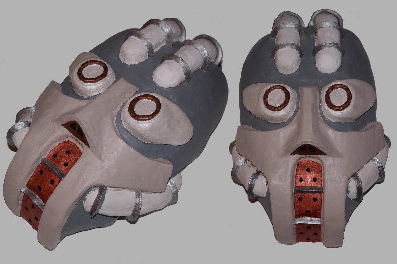 Mech Mask by scetxr-efx