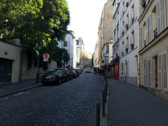 Montmartre street by bobbypan