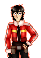 Keith- Voltron by UndercookedCrepe