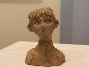 Evangelion bust....