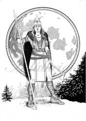 Goddess of War by adalheidis