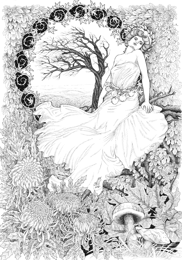 Allegory of Autumn by adalheidis