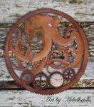 Steampunk Octopus by adalheidis