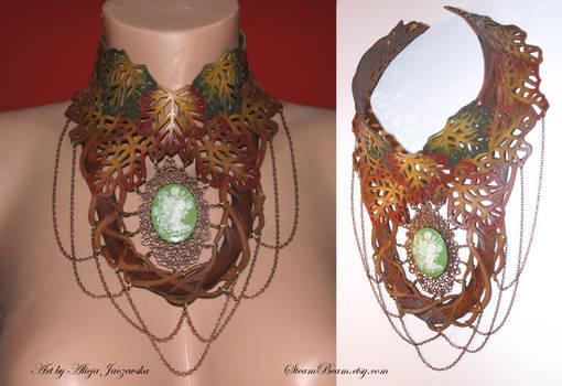 Autumn Forest Elven Necklace