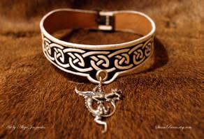 Sigridr choker - viking age art inspired