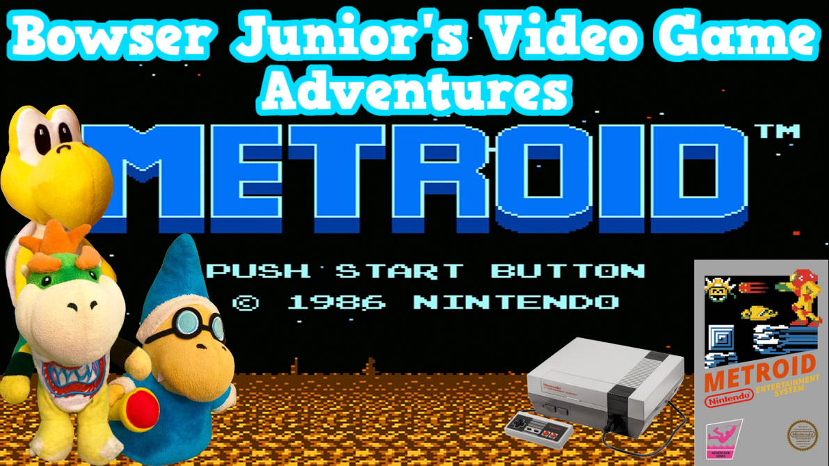 SML Transcript: Bowser Junior's VGA's: Metroid by