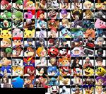 Super Smash Bros Infinity Roster (First Half)