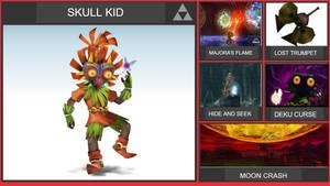 Skull Kid Smash Bros Moveset (Remastered)