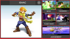 Isaac Smash Bros Moveset (Remastered)
