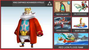King Daphnes Nohansen Hyrule Smash Bros Moveset