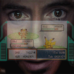 Iron Man Playing Pokemon by elbichopt