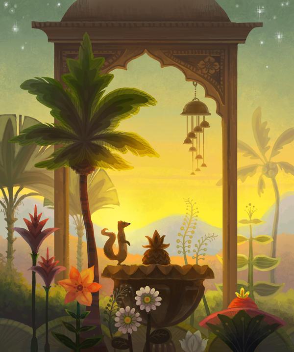 Rikki Tikki Tavi Garden By Melissa King