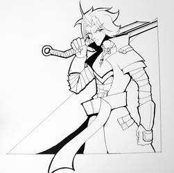 Inked Arcane by GiantBrobot