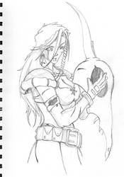 Character Sketches: D.Hunter2 by GiantBrobot