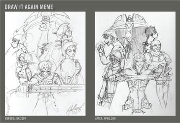 Draw It Again Meme: Olaris by GiantBrobot
