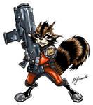 Guardians of the Galaxy: Rocket Raccoon (in color)