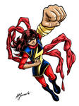 Ms.Marvel Kamala Khan in color