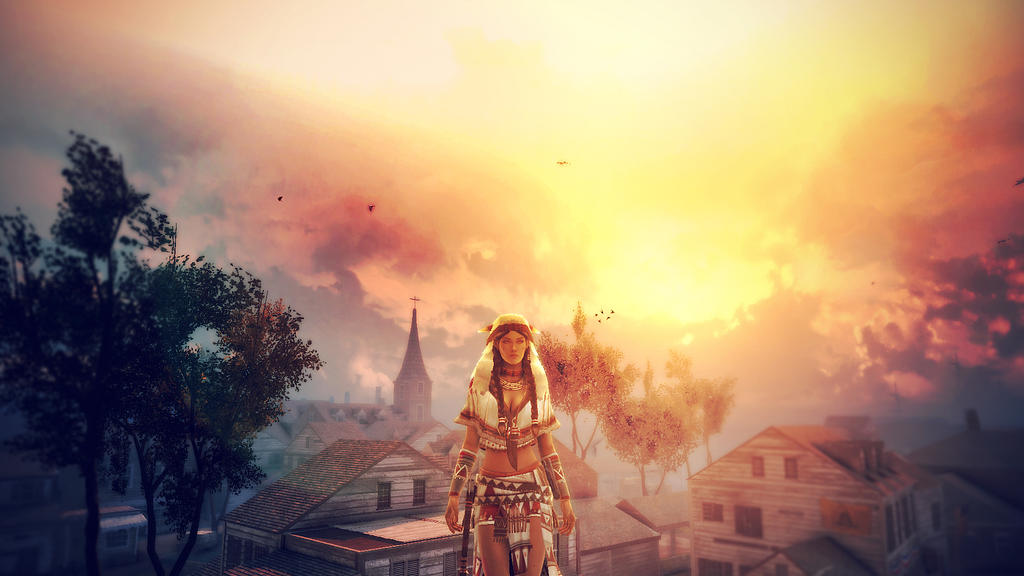 Assassin's Creed III Multiplayer Wallpaper by inourdreams1
