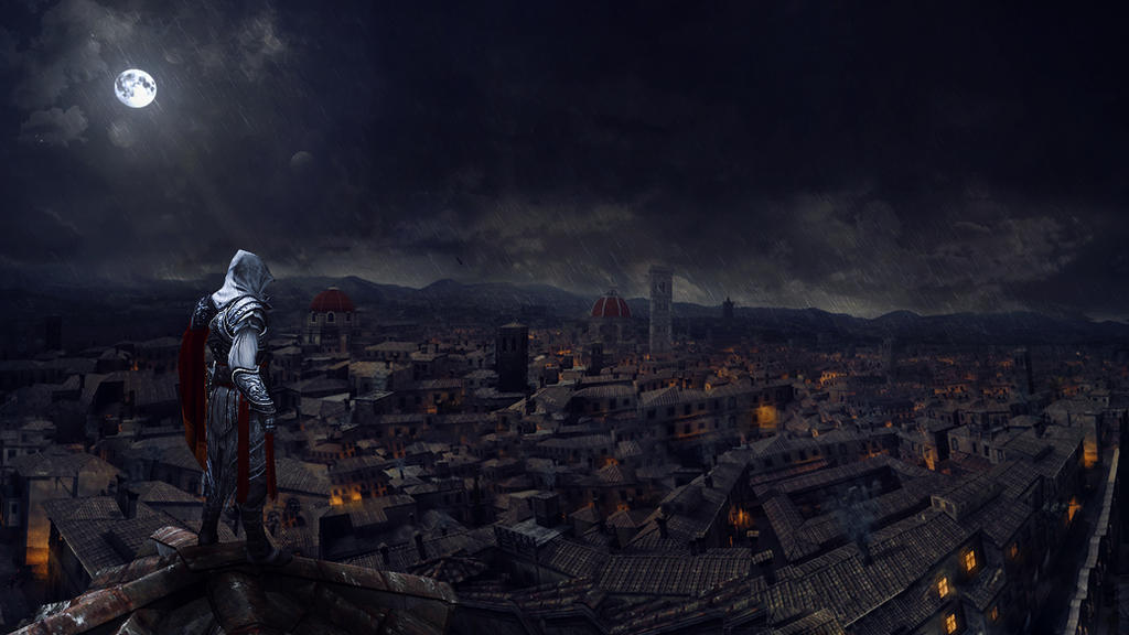 Assassin's Creed II Wallpaper by inourdreams1