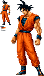 Goku SNK Style by KO-KI