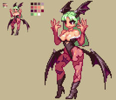 Morrigan Aensland by KO-KI