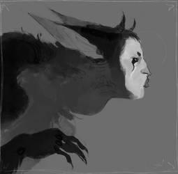 the storm spirit (commission)