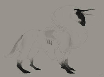 the meadow beast :adoptable: by Bethaleil