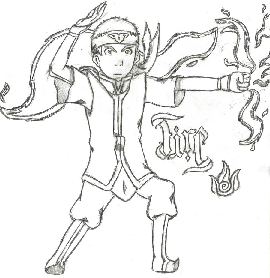Avatar Aang Drawings: Avatar Aang-Fire By Quidditchchick004 On DeviantArt