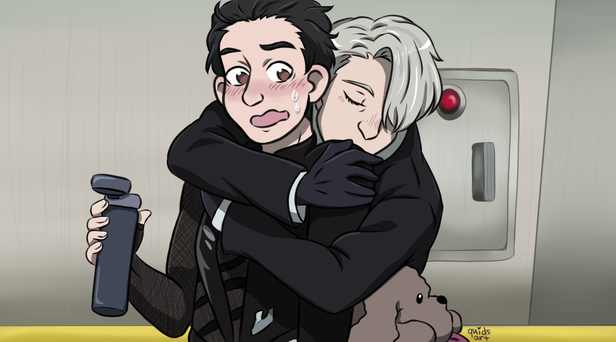 Victuuri Screencap Redraw by quidditchchick004 on DeviantArt