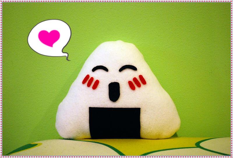 Happy onigiri by chibifie