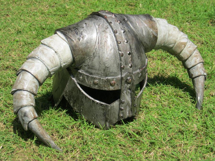 Skyrim Iron Helmet by renegadecow