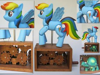 Rainbow Dash Automaton by renegadecow