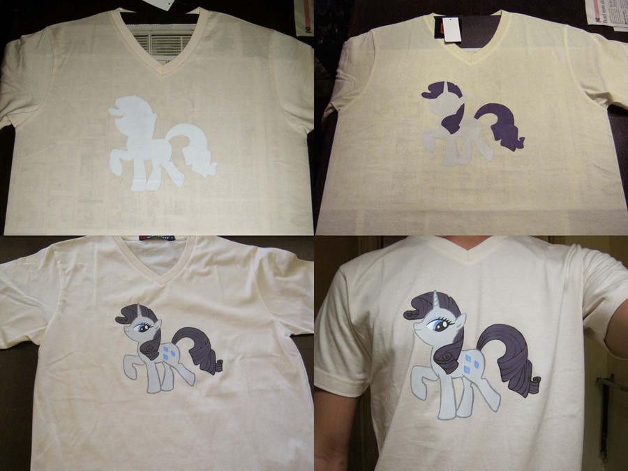 Rarity Silk Screen Shirt by renegadecow