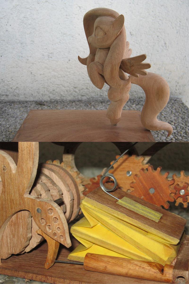 Pony Automaton #3 (WIP) by renegadecow