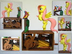 Fluttershy's Bird Choir