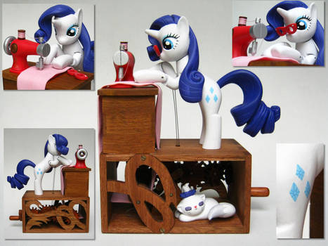Rarity Dress Making