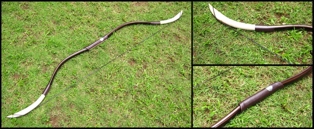 PVC Ebony Bow by renegadecow