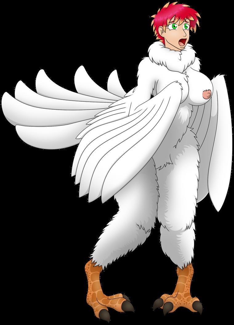 Kyla 'Pure Harpy' TF by elek-tronikz (Winter Coat) by Avulpanther