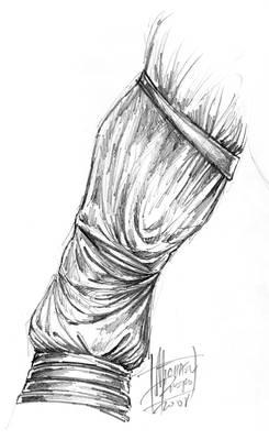 Monkey King Arm Concept Art