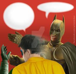 Caption Tthis: Batman and Robin