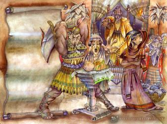King Solomon by mikerivero