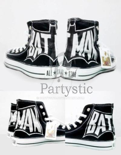 Sepatu Converse Lukis Batman by partystic on DeviantArt 8fe6b6fa2f