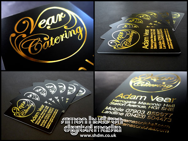 Vear catering business cards by s h d m on deviantart vear catering business cards by s h d m colourmoves