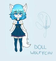 The Doll Wolfy by Sahra-Youtube